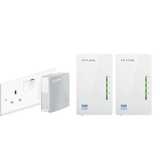 TP Link Powerline wireless extender (3 pack)